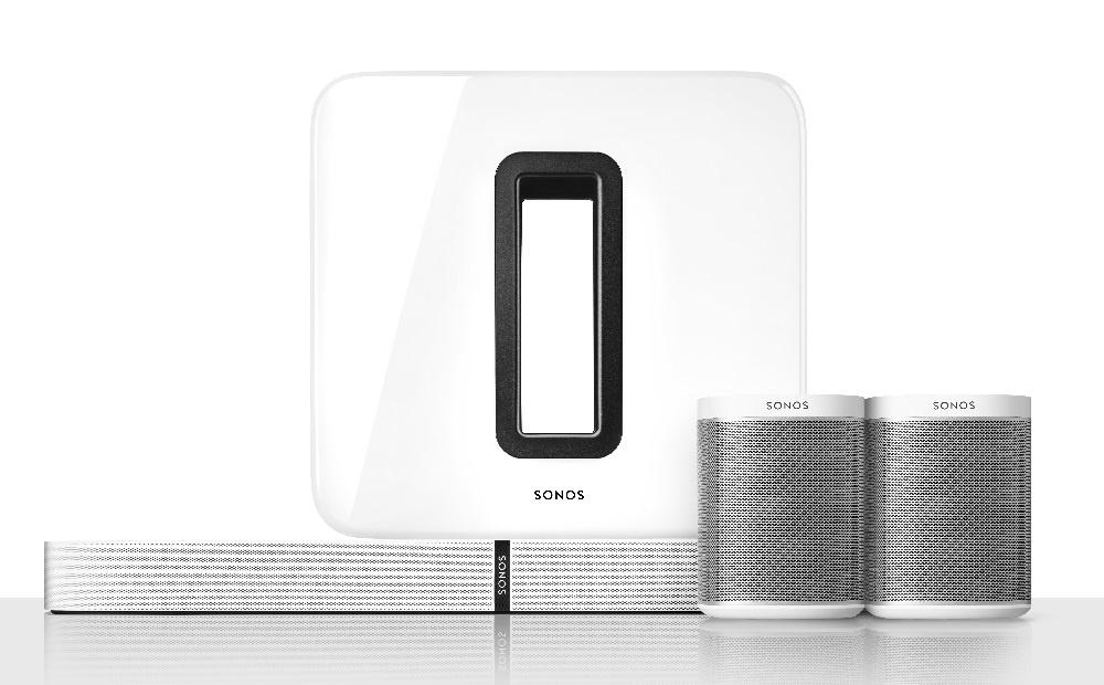 Sonos home cinema - Draadloze Muzieksystemen en Draadloze Speakers