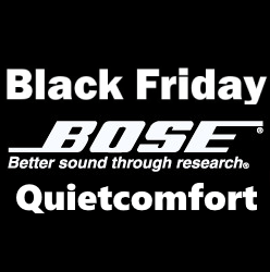 Black Friday aanbiedingen Bose Quietcomfort