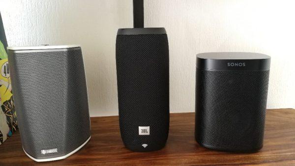 JBL Link vs. Sonos One & Heos 1
